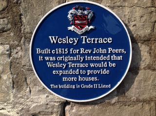 wesley terrace blue plaque