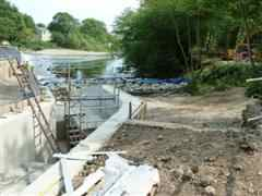 construction of fish pass